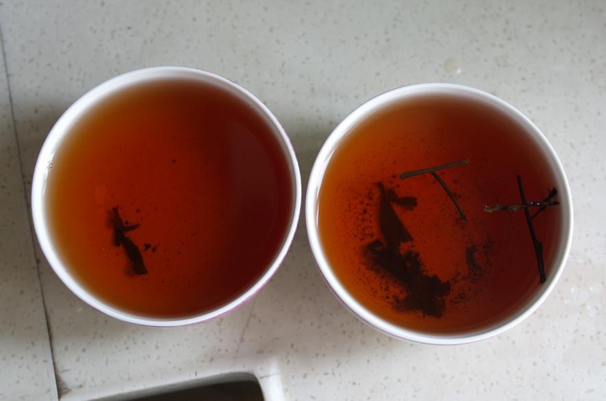 安化黑茶_茶汤